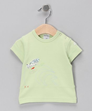 Green Fish Tee - Infant