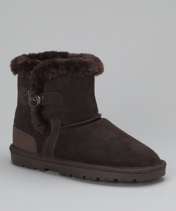 Chocolate Sporty Boot - Women