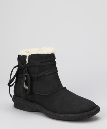 Black Camper Ankle Boot