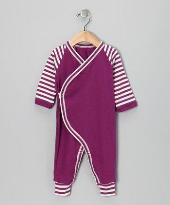 Beetle Berry Organic Playsuit - Infant