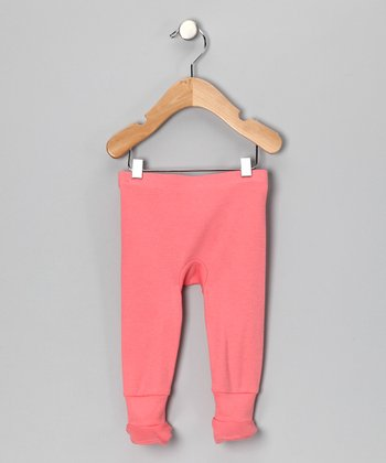 Coral Organic Footie Pants - Infant