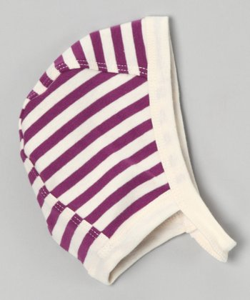 Berry Stripe Organic Strap Hat