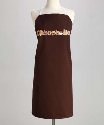 Brown 'Chocoholic' Apron