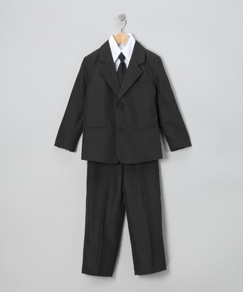 Black Suit Set - Infant, Toddler & Boys