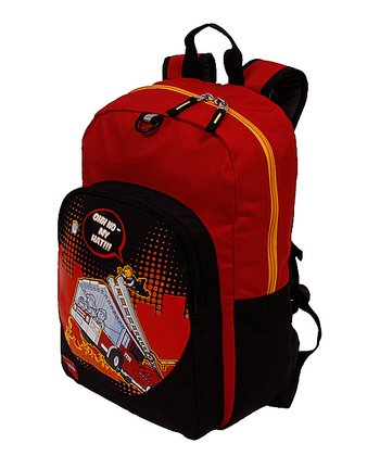 LEGO Red Fire City Nights Backpack