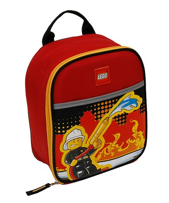 LEGO Fire City Nights Lunch Bag