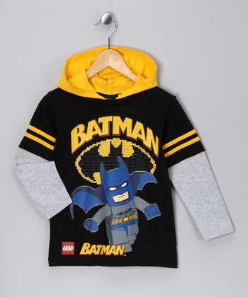 LEGO Navy 'Batman' Layered Tee - Boys