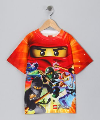 Red LEGO Ninjago Sublistatic Tee - Boys