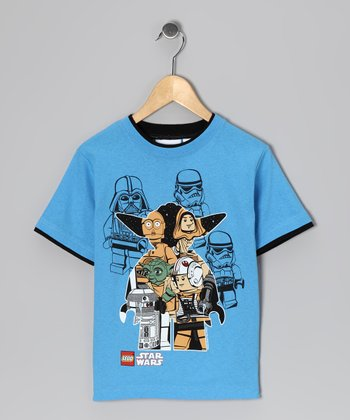 Blue LEGO Star Wars Cutout Tee - Kids