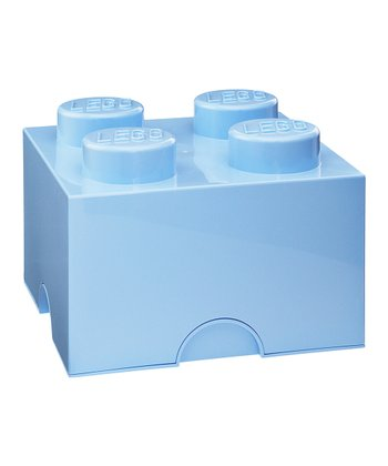 Light Blue LEGO 2 x 2 Storage Brick