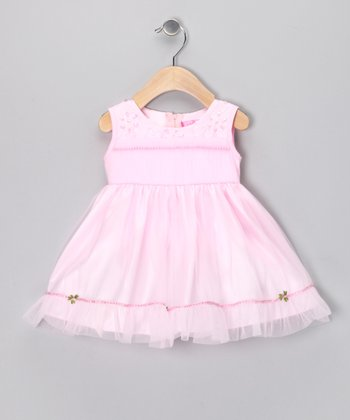 Pink Bead Dress - Infant