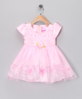Pink Flower Dress - Infant