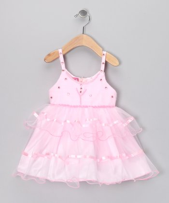 Pink Ballerina Dress - Infant