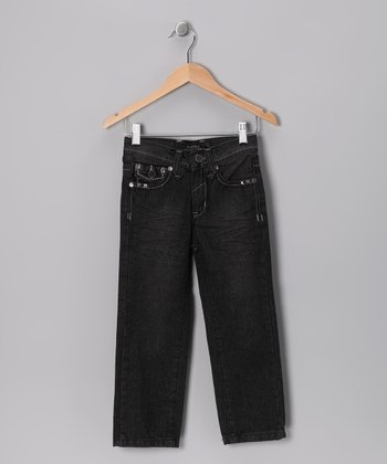 Black Todd's Fashion Jeans - Toddler & Boys