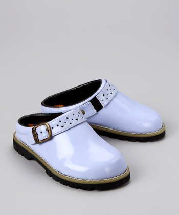 Lilac Patent Leather Clog