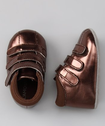 Brown Metallic Sneaker