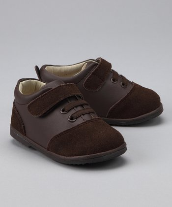 Brown Two-Tone Oxford Sneaker