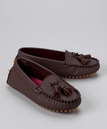 Brown Tassel Moccasin