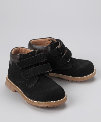 Black Double-Strap Boot
