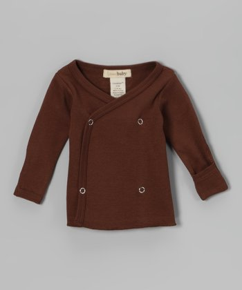 Brown Wrap Top - Infant