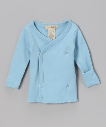 Blue Wrap Top - Infant