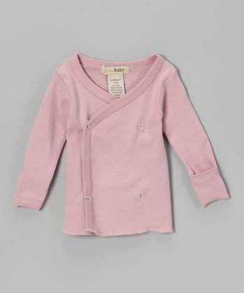 Think Pink Wrap Top - Infant