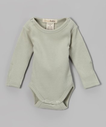 Keen Green Gl'oved-Sleeve Bodysuit - Infant