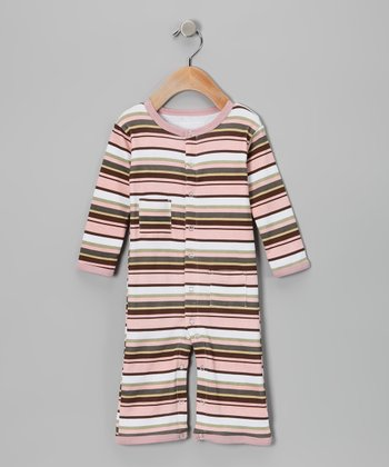 Warm Stripe Hype Playsuit