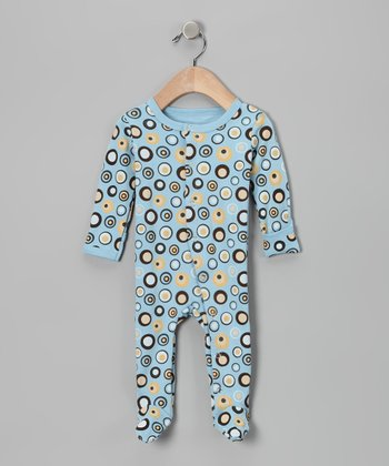 Cool Lots-a-Dots Gl'oved-Sleeve Footie - Infant
