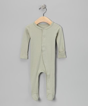 Keen Green Gl'oved-Sleeve Footie - Infant