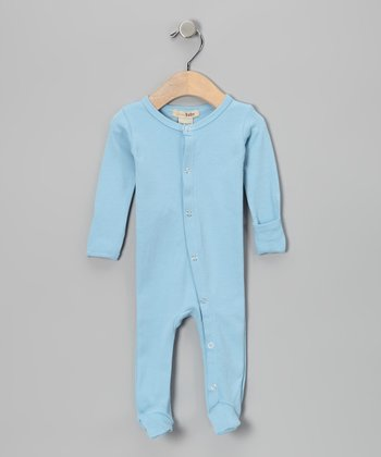True Blue Gl'oved-Sleeve Footie