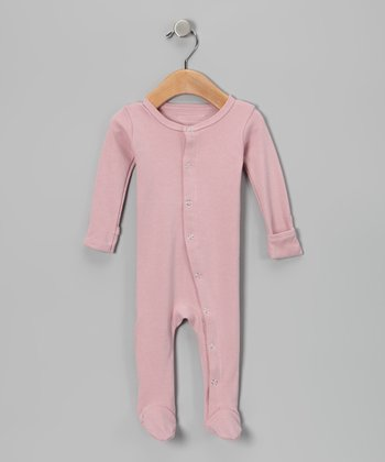 Think Pink Gl'oved-Sleeve Footie - Infant