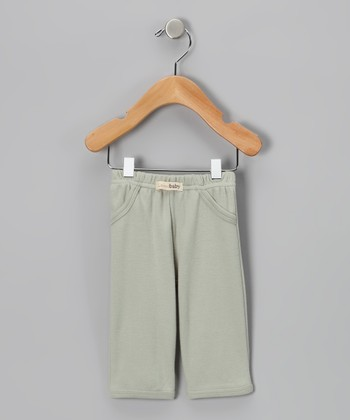 Green Signature Pants