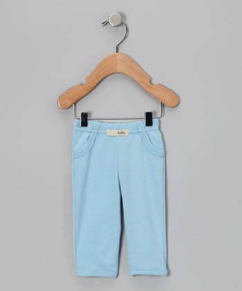 Blue Signature Pants - Infant