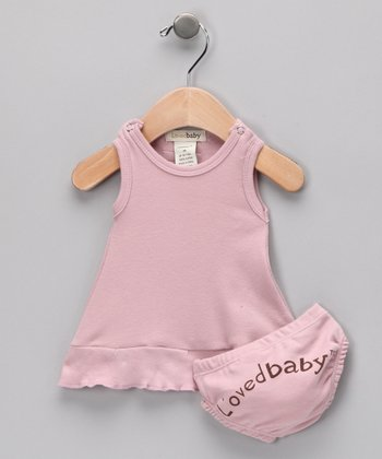 Think Pink Mod Dress & Diaper Cover - Infant