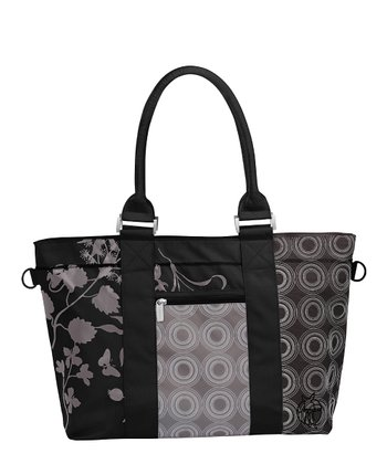 Colorpatch Black City Shopper Diaper Bag