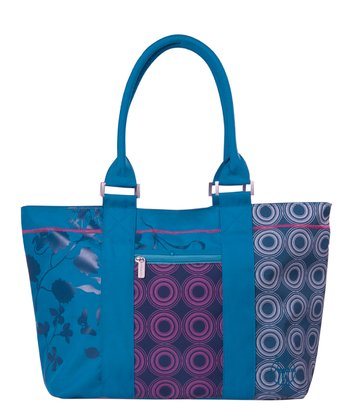 Colorpatch Petrol City Shopper Diaper Bag