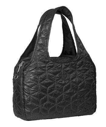 Black Global Diaper Bag
