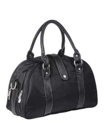 Black Shoulder Diaper Bag