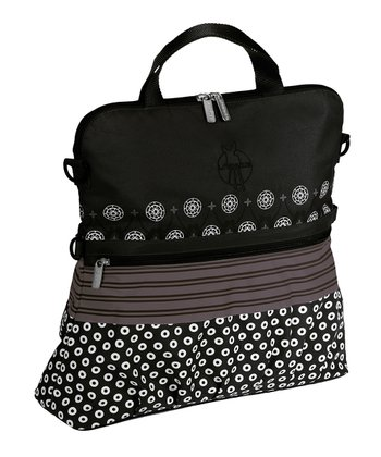 Multimix Black Casual Buggy Diaper Bag