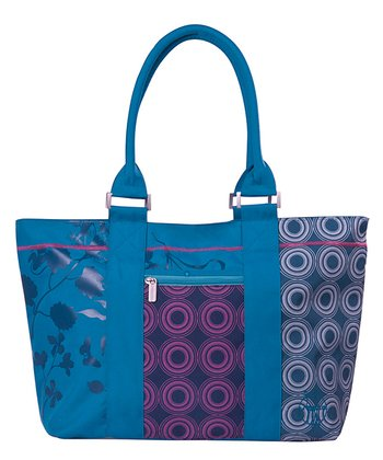 Petrol Casual City Shopper Diaper Bag