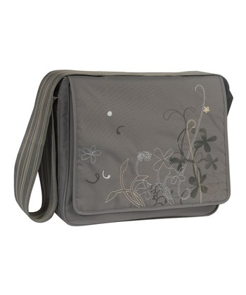 Field Gray Messenger Diaper Bag