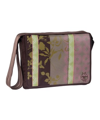 Colorpatch Chocolate Casual Messenger Diaper Bag