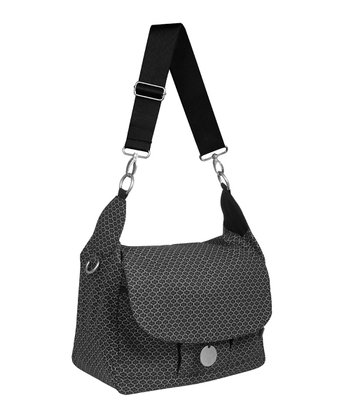 Lässig Black Gold Label Reversible Messenger Diaper Bag