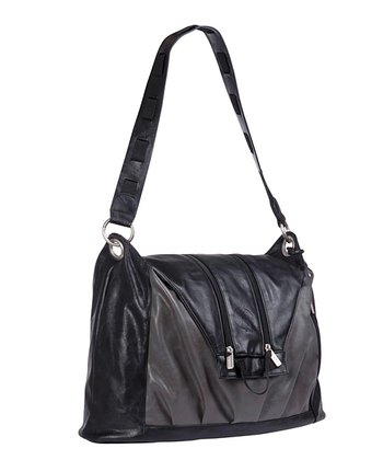 Black Tender V Diaper Bag