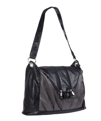 Black V-Bag Diaper Bag