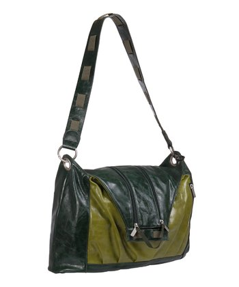 Green V-Bag Diaper Bag