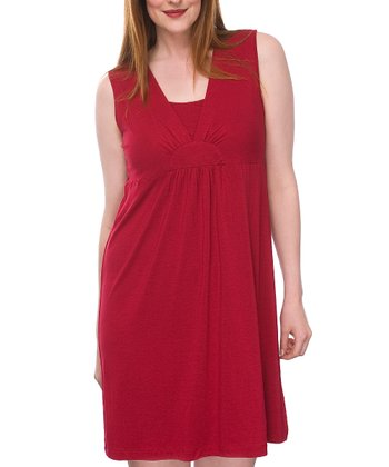 Sangria Nursing Nightgown - Women & Plus