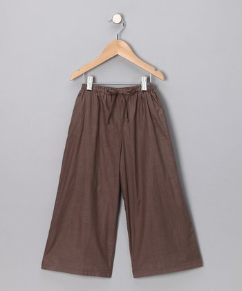 Brown Beach Pants - Infant, Toddler & Boys