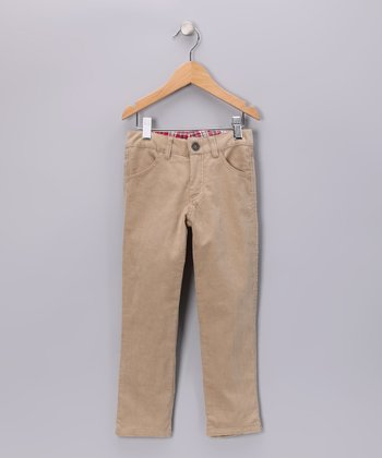 Beige Pants - Boys